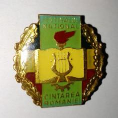 Insigna Festivalul National - Cantarea Romaniei, Romania de la 1950