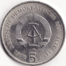 Republica Democrata Germana - 5 Mark 1972 - Orasul Meissen