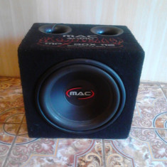 "Subwoofer auto Mac Audio ""Mac"", peste 200W"