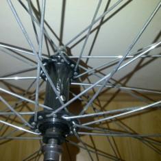 """Roata Bicicleta 27"""" - Piesa bicicleta Shimano, Butuci roata"""
