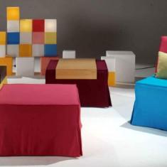 Cub extensibil, Pat extensibil, Fotoliu extensibil - Taburet
