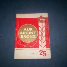 CARTE CLUBUL DINAMO - AUR ARGINT BRONZ - 1949 -1973 - 25 ANI DE EXISTENTA