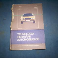TEHNOLOGIA REPARARII AUTOMOBILELOR / F.TANASE,E.BACIU,I.SOARE,N.BEJAN , 18b, Alta editura
