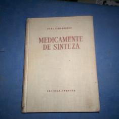 MEDICAMENTE DE SINTEZA CIORANESCU - Carte Farmacologie