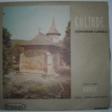 COLINDE, CORUL DE CAMERA MADRIGAL, vinil, Electrecord