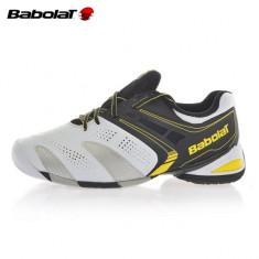 Pantofi tenis profesionali Babolat (BAB-30001-BCK) - Adidasi barbati, Marime: 39, 42, 43, 44, 45, 46, Culoare: Alb