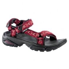Sandale Teva Original Universal Leather Metallic (TVA-1007549-RGL) - Sandale dama Teva, Culoare: Rosu, Marime: 39, 40, 41