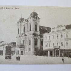 CARTE POSTALA TIMISOARA BISERICA DOM ANII 40 - Carte Postala Banat dupa 1918, Necirculata, Printata