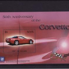 NEVIS 2003 AUTOMOBILE - Timbre straine