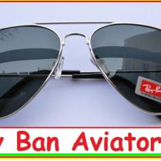 OCHELARI RAY BAN MODEL AVIATOR CULOAREA NEAGRA - Ochelari de soare Ray Ban, Unisex, Negru, Wayfarer, Metal, Protectie UV 100%