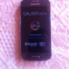 Samsung Galaxy Ace, Negru, Orange, 3.5''