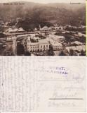 Vatra Dornei (Bucovina, Suceava)- Vedere generala-rara,  cenzura WWI, Circulata, Printata