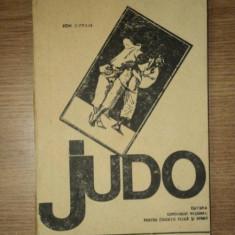 JUDO de ION L. AVRAM, 1969 - Carte sport