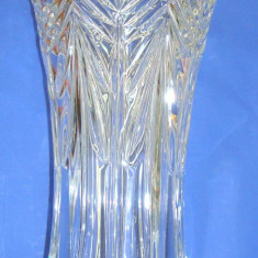 Cristal BOHEMIA  Vaza model Perseus inaltime 30 cm, cod 89001.99007.300