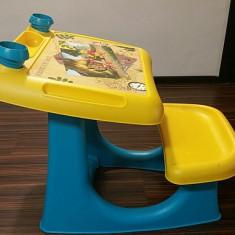 Bancuta pentru joaca si desen Biemme - Winnie the Pooh - Balansoar interior