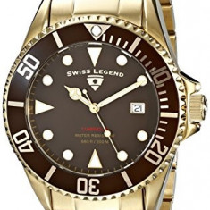 Swiss Legend Men's 21344-YG-44 Luminous | 100% original, import SUA, 10 zile lucratoare a12107 - Ceas barbatesc Swiss Legend, Quartz