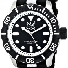 Nautica Men's N09647G Black and | 100% original, import SUA, 10 zile lucratoare a12107 - Ceas barbatesc Nautica, Quartz
