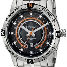Armitron Men's 20 5015BKSV Orange | 100% original, import SUA, 10 zile lucratoare a12107 - Ceas barbatesc Armitron, Quartz