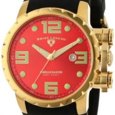 Swiss Legend Men's 30021-YG-05 Ambassador | 100% original, import SUA, 10 zile lucratoare a12107 - Ceas barbatesc Swiss Legend, Quartz