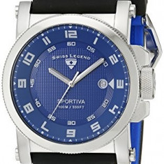 Swiss Legend Men's 40030-03 Sportiva | 100% original, import SUA, 10 zile lucratoare a12107 - Ceas barbatesc Swiss Legend, Quartz