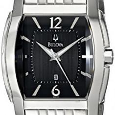 Bulova Men's 96B112 Bracelet Black | 100% original, import SUA, 10 zile lucratoare a12107 - Ceas barbatesc Bulova, Quartz