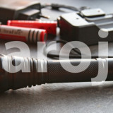 Lanterna Tip Police Led Cree XML T6 - 2800W + Charger priza si masina