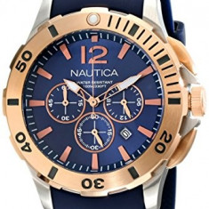Nautica Men's NAD19506G BFD 101 | 100% original, import SUA, 10 zile lucratoare a12107 - Ceas barbatesc Nautica, Quartz