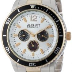 August Steiner Men's AS8059TTG Quartz | 100% original, import SUA, 10 zile lucratoare a12107 - Ceas barbatesc August Steiner, Casual