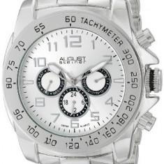 August Steiner Men's AS8095SS Swiss | 100% original, import SUA, 10 zile lucratoare a12107 - Ceas barbatesc August Steiner, Quartz