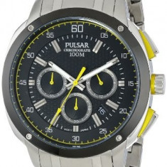 Pulsar Men's PT3393 Analog Display | 100% original, import SUA, 10 zile lucratoare a42707 - Ceas barbatesc Pulsar, Quartz