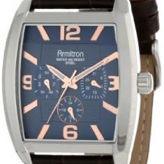 Armitron Men's 20 4877BLSVBN Blue | 100% original, import SUA, 10 zile lucratoare a12107 - Ceas barbatesc Armitron, Elegant