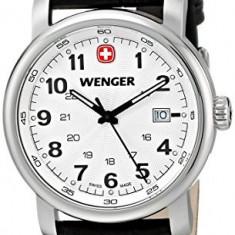 Wenger Men's 1041 101 Analog | 100% original, import SUA, 10 zile lucratoare a12107 - Ceas barbatesc Wenger, Quartz