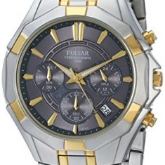 Pulsar Men's PT3200 Chronograph Watch | 100% original, import SUA, 10 zile lucratoare a12107 - Ceas barbatesc Pulsar, Quartz