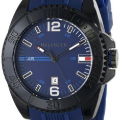 Tommy Hilfiger Men's 1791040 Black | 100% original, import SUA, 10 zile lucratoare a12107 - Ceas barbatesc Tommy Hilfiger, Quartz