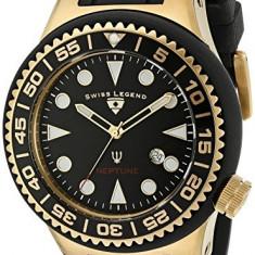 Swiss Legend Men's 21818D-YG-01-NB Neptune | 100% original, import SUA, 10 zile lucratoare a12107 - Ceas barbatesc Swiss Legend, Quartz