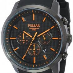 Seiko Men's PT3207 Pulsar Chronograph | 100% original, import SUA, 10 zile lucratoare a12107 - Ceas barbatesc Pulsar, Lux - sport