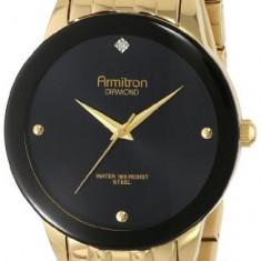 Armitron Men's 20 4952BKGP Diamond   100% original, import SUA, 10 zile lucratoare a12107 - Ceas barbatesc Armitron, Elegant