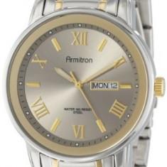 Armitron Men's 20 4935SVTT Day   100% original, import SUA, 10 zile lucratoare a12107 - Ceas barbatesc Armitron, Elegant