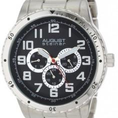 August Steiner Men's AS8060SS Quartz | 100% original, import SUA, 10 zile lucratoare a12107 - Ceas barbatesc