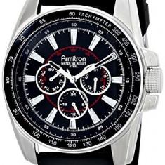 Armitron Men's 20 4958BKSVBK Silver-Tone | 100% original, import SUA, 10 zile lucratoare a42707 - Ceas barbatesc Armitron, Elegant
