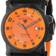 Swiss Legend Men's 40030-BB-06 Sportiva | 100% original, import SUA, 10 zile lucratoare a42707 - Ceas barbatesc Swiss Legend, Quartz