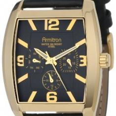 Armitron Men's 20 4877BKGPBK Gold-Tone   100% original, import SUA, 10 zile lucratoare a12107 - Ceas barbatesc Armitron, Elegant