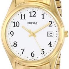 Pulsar Men's PXH430 Expansion Gold-Tone | 100% original, import SUA, 10 zile lucratoare a42707 - Ceas barbatesc Pulsar, Quartz