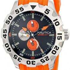 Nautica Men's N15565G BFD 100 | 100% original, import SUA, 10 zile lucratoare a12107 - Ceas barbatesc Nautica, Quartz