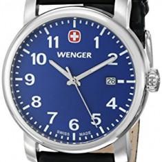 Wenger Men's 71003 Amazon-Exclusive Stainless | 100% original, import SUA, 10 zile lucratoare a12107, Quartz
