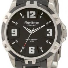 Armitron Men's 204718BKBK Black Ceramic | 100% original, import SUA, 10 zile lucratoare a12107 - Ceas barbatesc Armitron, Quartz