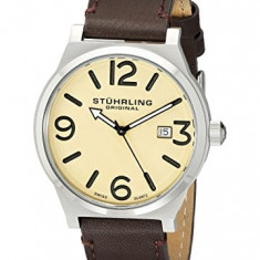 Stuhrling Original Men's 454 3315K15 | 100% original, import SUA, 10 zile lucratoare a12107 - Ceas barbatesc Stuhrling, Quartz