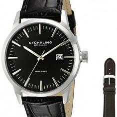 Stuhrling Original Men's 555A 02 | 100% original, import SUA, 10 zile lucratoare a12107 - Ceas barbatesc Stuhrling, Quartz