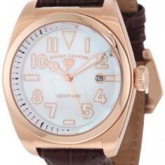 Swiss Legend Men's 20434-RG-02MOP-BRW Heritage | 100% original, import SUA, 10 zile lucratoare a12107 - Ceas barbatesc Swiss Legend, Quartz