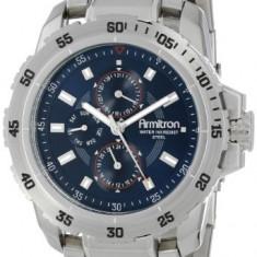 Armitron Men's 20 4945BLSV Multi-Function | 100% original, import SUA, 10 zile lucratoare a12107 - Ceas barbatesc Armitron, Elegant